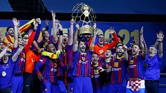 El FC Barcelona gana su décima Champions League de balonmano