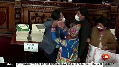 Parlamento - Otros parlamentos - A tortas en el Parlamento de Bolivia - 12/06/2021
