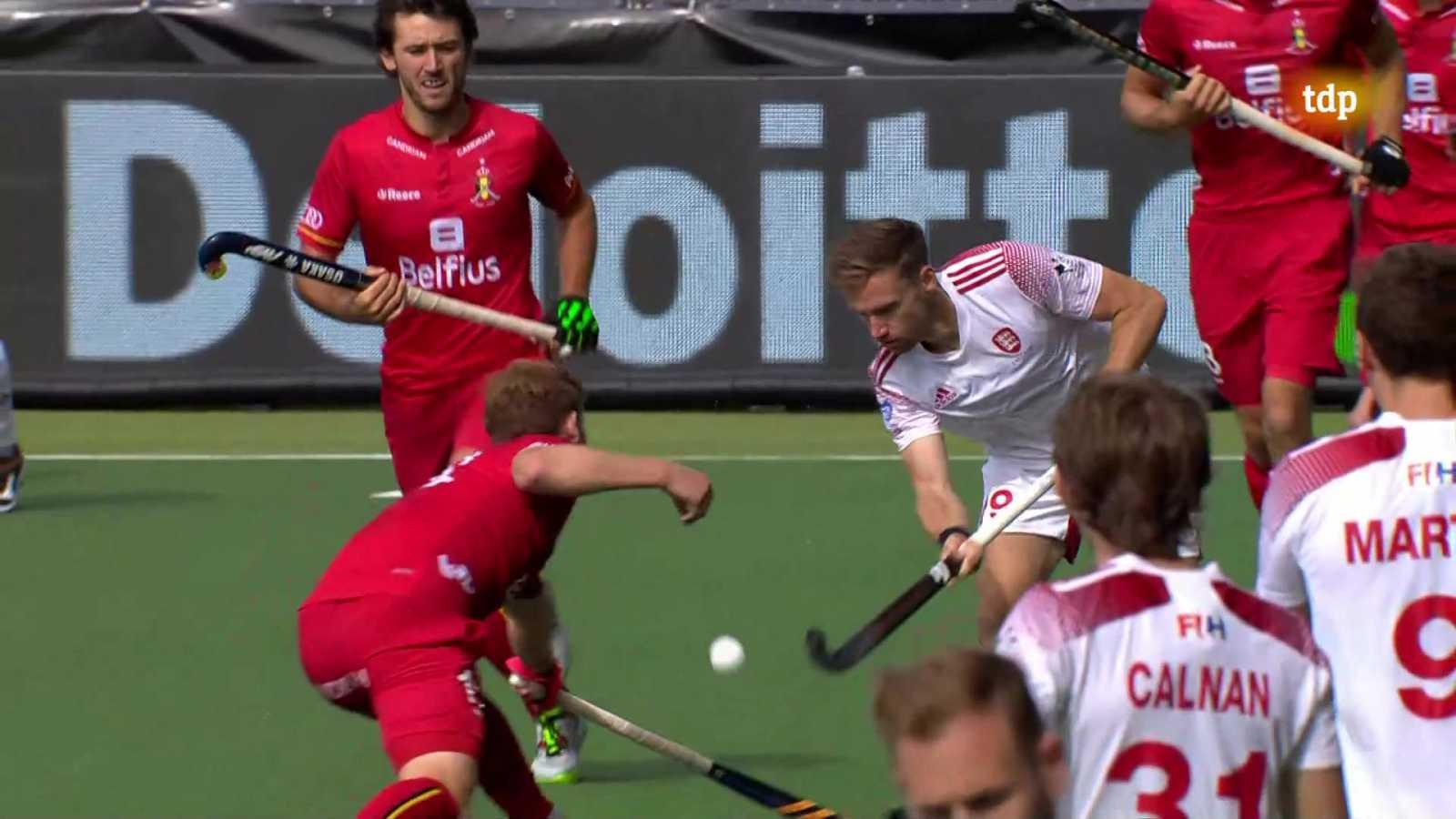 Hockey hierba - Campeonato de Europa masculino. 3º- 4º puesto: Inglaterra - Bélgica - ver ahora
