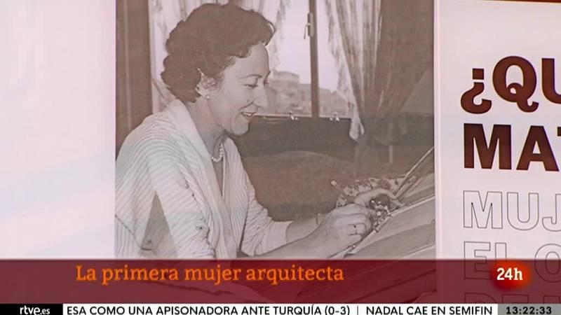 Matilde Ucelay, la primera mujer arquitecta