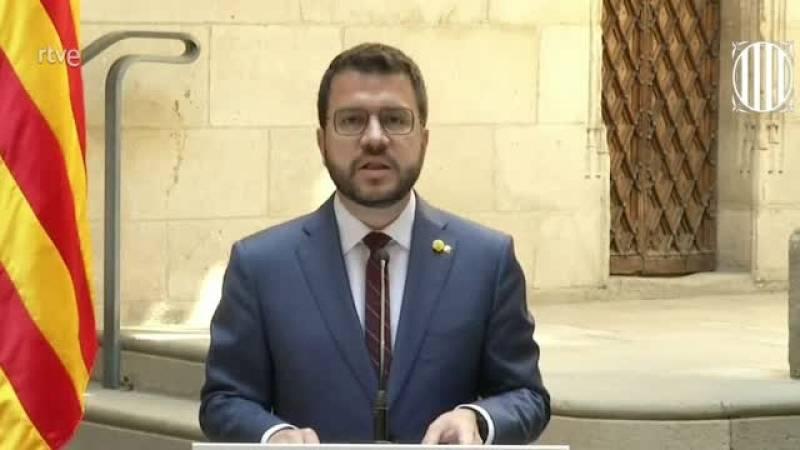 Aragonès avança una nova etapa marcada pel diàleg social a Catalunya