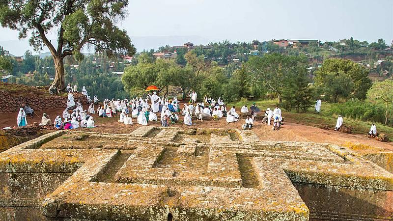 Sin equipaje - Etiopía: antiguas iglesias rupestres - ver ahora