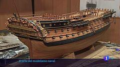 Curro Agudo nos enseña el arte del modelismo naval