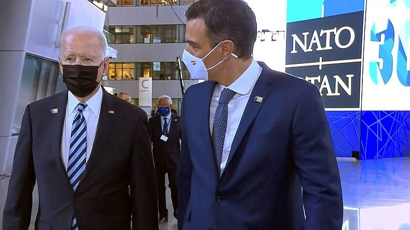 """Sánchez, sobre el encuentro con Biden: """"No tengo cronómetro de cuánto me he reunindo o no con el presidente de EE.UU."""""""
