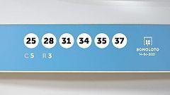 Sorteo de la Lotería Bonoloto del 14/06/2021