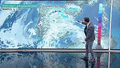 La Aemet prevé fuertes tormentas en el norte y en zonas cercanas al sistema Ibérico