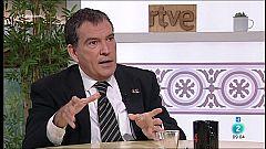 """Cafè d'idees - Alonso-Cuevillas: """"Hem de fer una via trilateral, que tercers obliguin a l'Estat a asseure's"""""""
