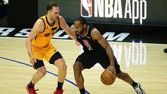 Victorias de Clippers y Hawks para empatar sus series ante Utah y Sixers
