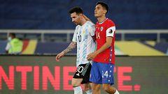 Argentina comienza su andadura en la Copa América con un empate ante Chile