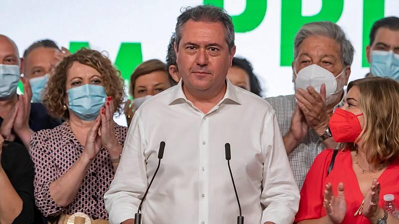 """Espadas asegura que analizará con Díaz """"los cambios"""" en el grupo parlamentario: """"Este proceso tiene que unir más al partido"""""""