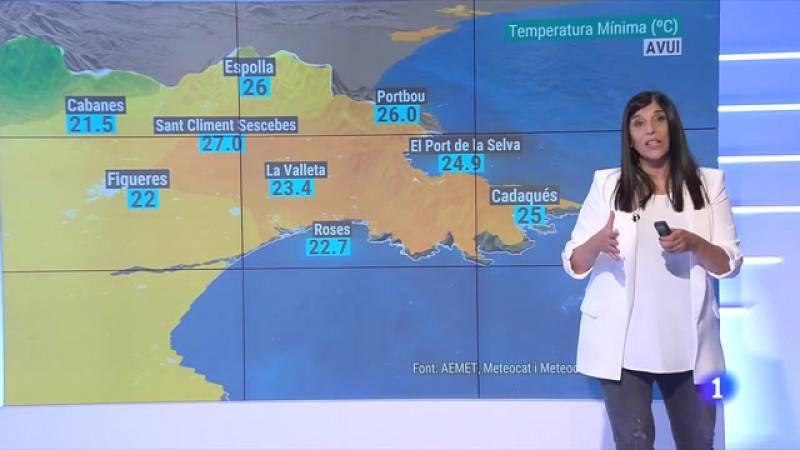 El Temps (15/06/2021) - Calor de dia i calor de nit (a la costa)