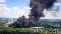 Una explosión química en Illinois amenaza con una catástrofe medioambiental
