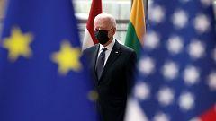 """Biden insiste en que """"EE.UU. ha vuelto"""" y que quiere acercarse a sus aliados"""