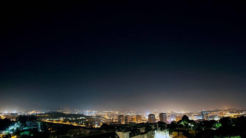 La contaminación lumínica evita disfrutar de las estrellas y afecta al medio ambiente y a nuestra salud
