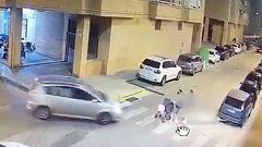 Detenido por dejar inconsciente a un conductor que se saltó un paso de peatones