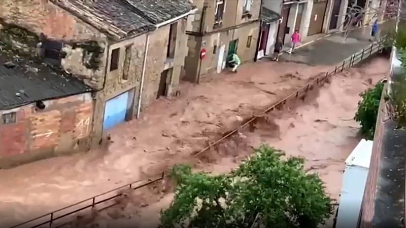 Calor y tormentas: once comunidades en alerta amarilla por lluvias o altas temperaturas