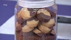 Pastas de chocolate y vainilla muy fáciles