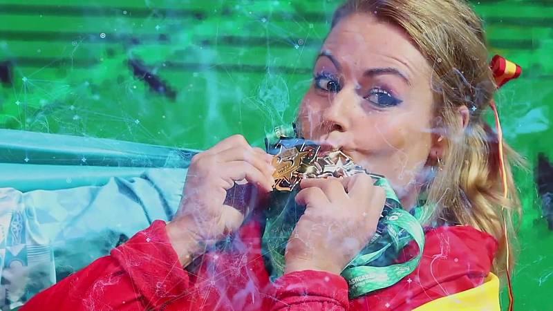 Orgullo de medalla - Programa 24: Lydia Valentín: Medallista en 2008, 2012 y 2016 - ver ahora