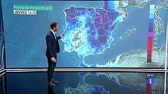Fuertes tormentas acompañadas de granizo en el noroeste peninsular
