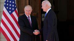 Arranca la cumbre entre Biden y Putin en Ginebra