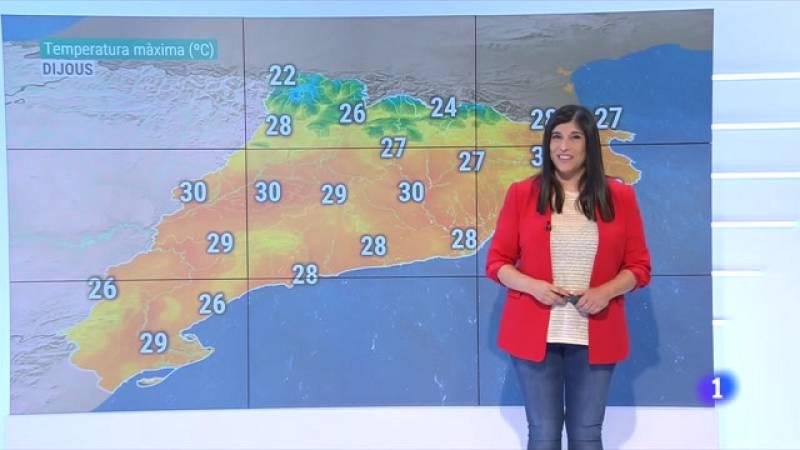 El Temps (16/06/2021) - La calor més intensa, afluixa
