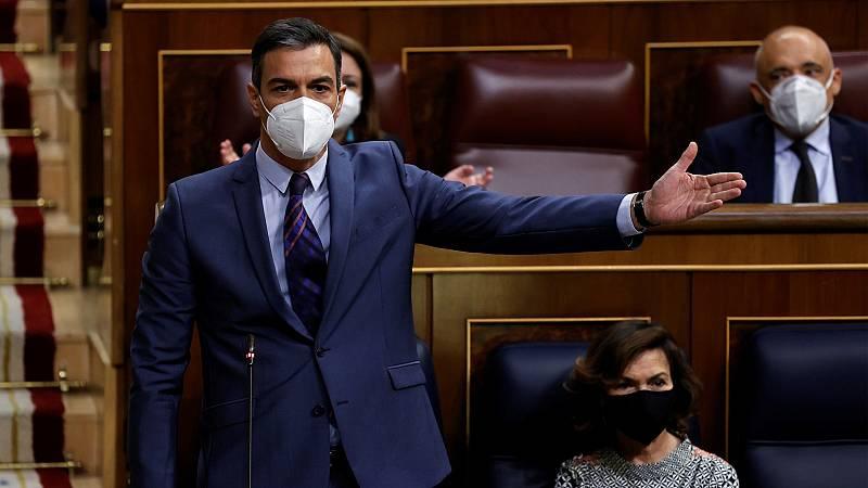 El Gobierno y la oposición vuelven a enzarzarse por los indultos y el Congreso tumba la moción del PP contra los mismos