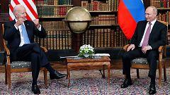 Biden y Putin cara a cara en una cumbre histórica