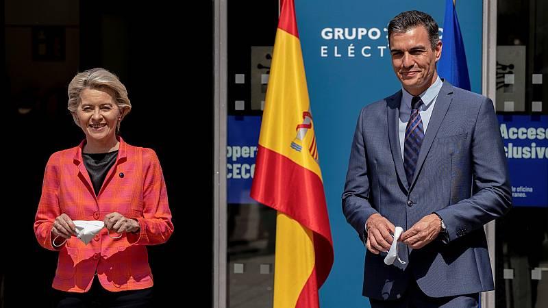 """Sánchez anuncia Conferencia de Presidentes para abordar el plan de recuperación español: """"Son protagonistas"""""""