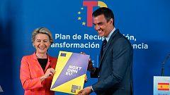 """Von der Leyen sobre el plan de recuperación español: """"Hará que España surja más fuerte y preparada"""""""