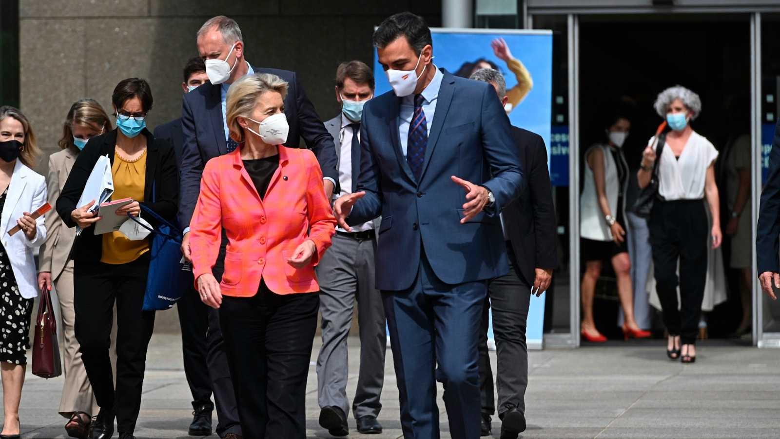 Bruselas aprueba el plan de recuperación de España, el primer paso para recibir los 69.500 millones en ayudas