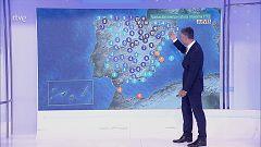 Temperaturas significativamente altas en Baleares y zonas del interior del nordeste peninsular