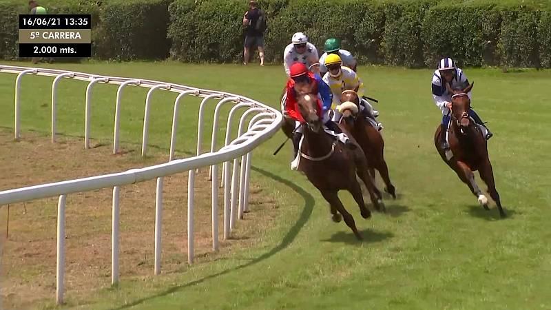 Hípica - Circuito nacional de carreras de caballos, desde el Hipódromo de San Sebastián - ver ahora