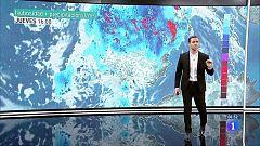 Fuertes tormentas en las mitades norte y este de la península