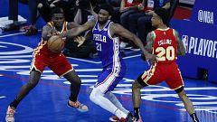 Victorias de Hawks y Clippers para aventajar 3-2 en sus series