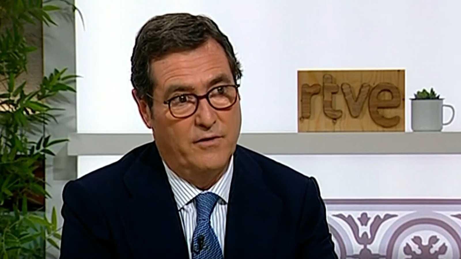 """Antonio Garamendi, sobre los indultos: """"Si acaba en que las cosas se normalicen, bienvenidos sean"""""""
