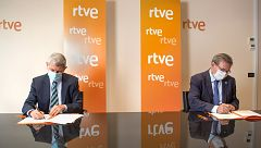 RTVE y la Secretaría de Estado de Memoria Democrática firman un acuerdo de colaboración