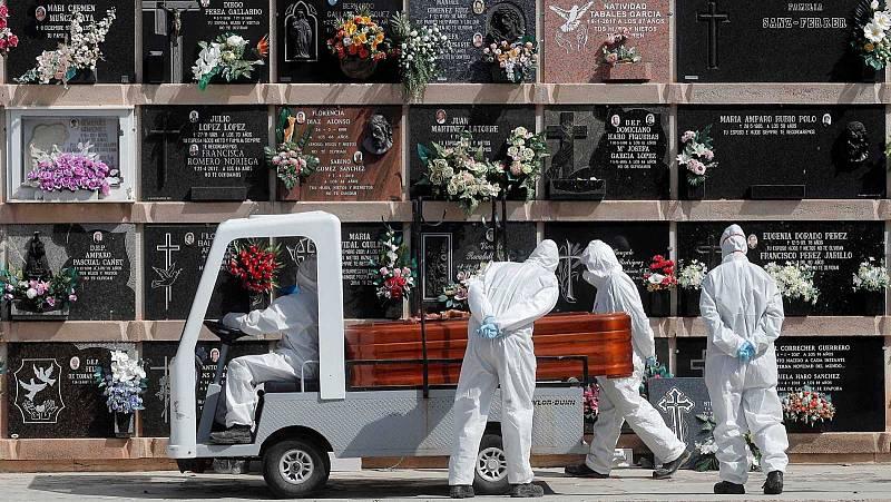 La pandemia provoca el mayor incremento de muertos en España desde la posguerra
