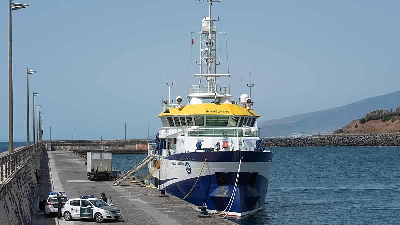 La Guardia Civil busca alternativas diferentes al buque Ángeles Alvariño para encontrar a Anna