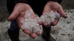 Doce comunidades siguen en alerta por fuertes lluvias y tormentas acompañadas de granizo