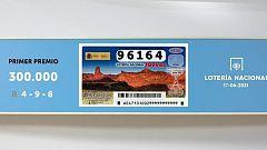 Sorteo de la Lotería Nacional del 17/06/2021
