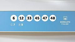 Sorteo de la Lotería Bonoloto del 17/06/2021