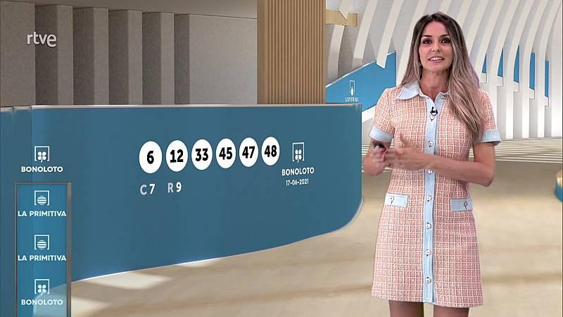 Sorteo de la Lotería Nacional, Bonoloto, Primitiva y Jóker del 17/06/2021 - ver ahora