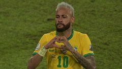 Neymar se convierte en el segundo máximo goleador de Brasil por detrás de Pelé