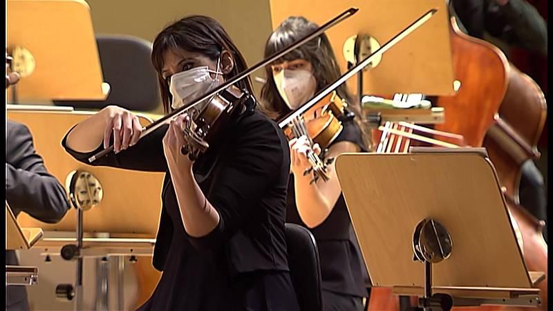Los conciertos de La2 - Temporada 2020-2021 Orquesta y Coro Nacionales de España: Ciclo Sinfónico nº 19 - Ver ahora