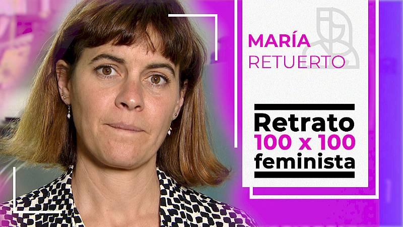 Objetivo Igualdad-Retrato 100 x 100 feminista: María Retuerto, científica