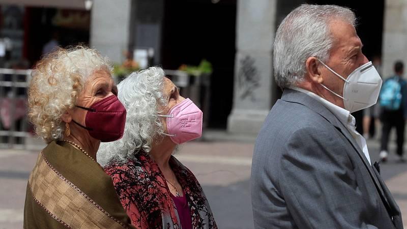 La mascarilla dejará de ser obligatoria en exteriores a partir del 26 de junio