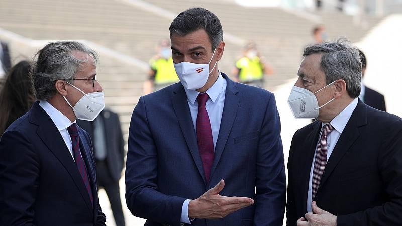 Sánchez recibe el apoyo de los empresarios catalanes ante los indultos y Aragonès advierte de que no bastan