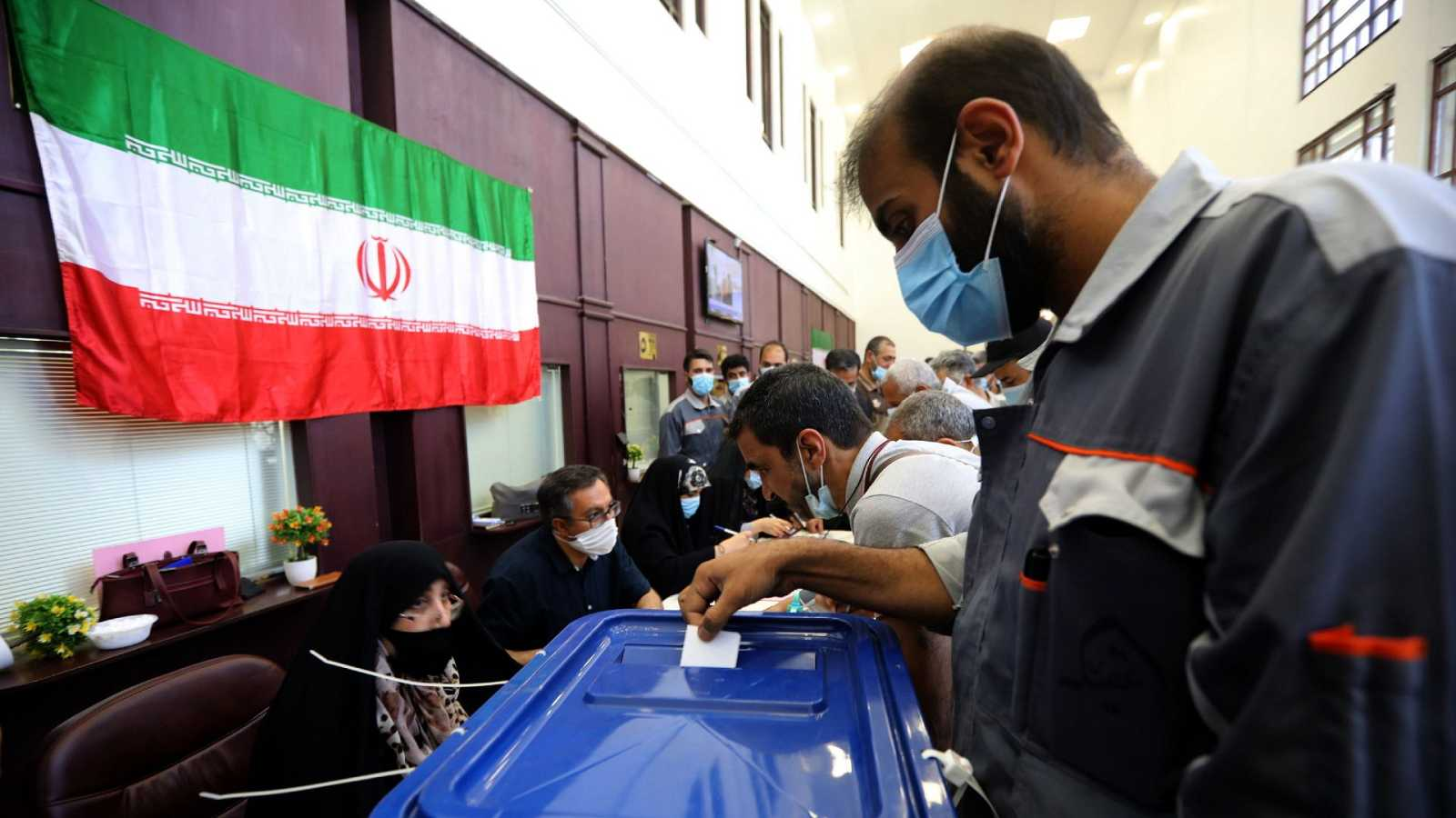 Ebrahim Raisí, el candidato más conservador, favorito en las presidenciales de Irán