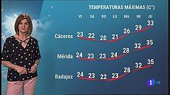 El tiempo en Extremadura - 18/06/2021
