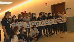 Ourense celebra a administración da dose número 300.000 na provincia